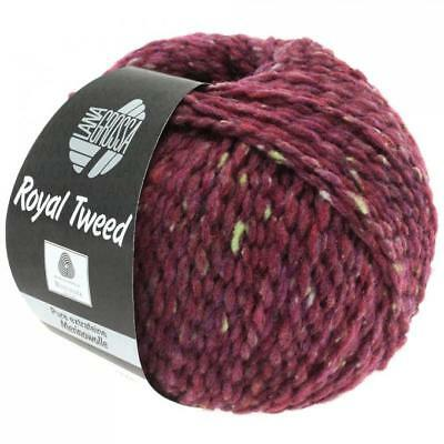 Wolle 500 gramm Lana Grossa Royal Tweed Farbe 87   10 Knäuel a 50 gramm