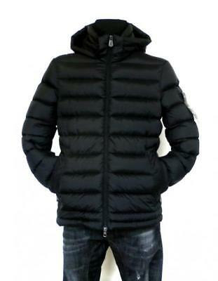 PEUTEREY down jacket man hooded jacket FIDDLER CJ black L