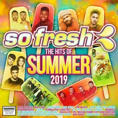 Various Artists - So Fresh: The Hits Of Summer 2019 (CD ALBUM)