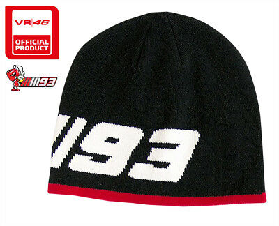 e980f77960f11 New Official Motogp World Champion Marc Marquez  93 Black Rider Beanie Hat