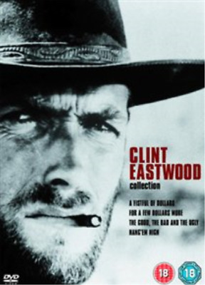 Clint Eastwood, Lee van Cleef-Clint Eastwood Collection (UK IMPORT) DVD NEW