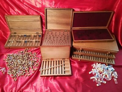 Watchmakers Cabinet and wooden boxes
