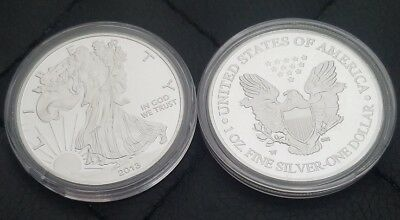 Etats-Unis - 1 Oz Silver Eagle Liberty Dollar - 2013 - Argent 999%  one $ USA