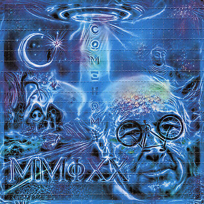 ॐॐॐ ALBERT HOFMANN 2019 ॐॐॐ blotter art - psychedelic goa acid artwork