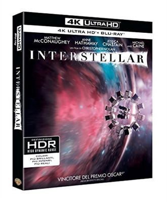 Interstellar (4K Ultra Hd+Blu Ray) - (Italian Import) (UK IMPORT) BLU-RAY NEW