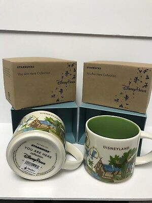 Disneyland Adventureland Starbucks Mug YAH You Are Here Collection Version 3