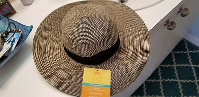 5ef7f847bbe Solar Escape UV 50+ Grasslands Hat Women Tan Black NEW Adjust sizing 4 1