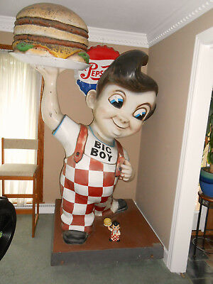 "Bob's Big Boy Restaurant Advertising Original Early version ""ONLY ORIGINAL ONCE"""