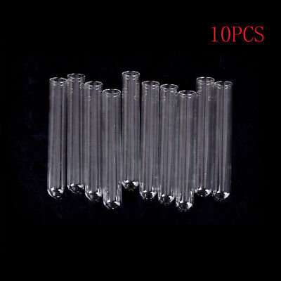 10Pcs 15*100 mm Glass Blowing Tubes 4 Inch Long Thick Wall Test Tube CS