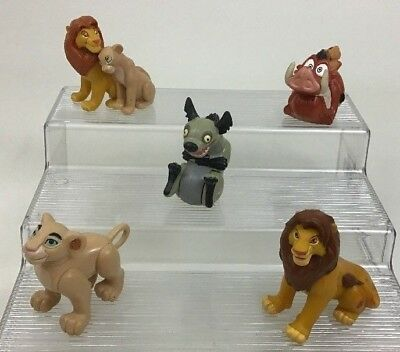 Lion King Lot 5pc Toy Figures PVC Cake Topper Disney Vintage 1994 Burger King A2