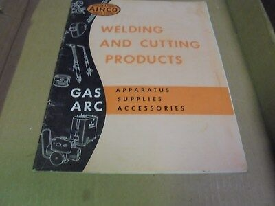 Vintage 1948 Airco Welding and Cutting Products Catalog