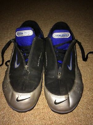 Nike Zoom Rival SIZE 7.5UK Track Field Sprint Spikes Unisex Blue Black Silver