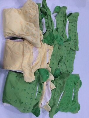 Huge Used Cloth Diaper Lot - BumGenius One Size Snap - 15 Diapers