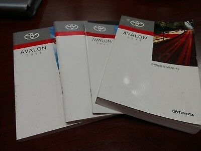 owners manual avalon 2011
