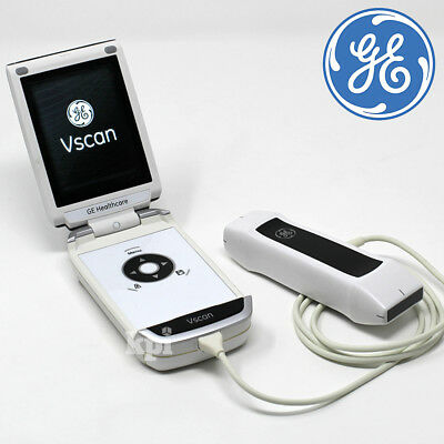 Handheld GE Vscan Ultrasound Dual Head Machine - Portable Scan System Rev 1.4