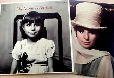 Lot Of 2 Barbra Streisand Lps-My Name Is Barbra /barbra 2 1965 Classics Vg+/nf