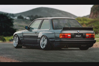 BMW E30 Coupe Wide Body Kit, Conversion Bodykit, Drift
