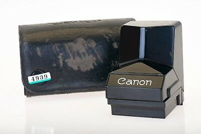 Canon Speed Finder with Case, fits Canon F1 SLR 35mm Film Camera (4939)