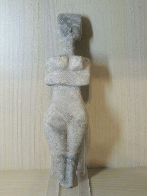Antique Huge Stone Figure statuette,mother godess,fertility,idol,god,alien