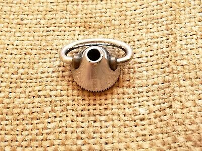 Vintage Campagnolo Nuovo Super Record quick release skewer end nut for road bike