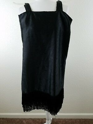 Flapper Fringed Cocktail Dress Vintage 1920s Gatsby Roaing 20s Costume 20 Women