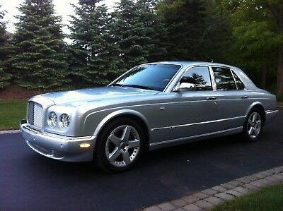 2006 Bentley Arnage  Bentley Arnage Twin Turbo Silver 2006