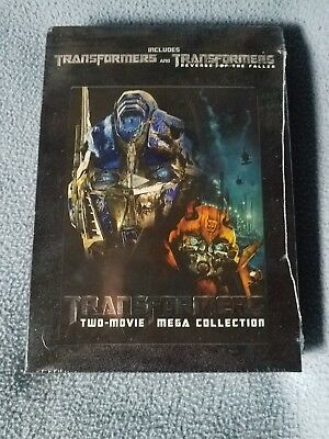 Transformers 1 &2 Two-Movie Mega Collection DVD NEW Factory SEALED!