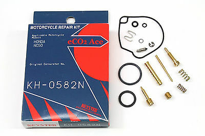 Carburetor Rebuild Kit 77 78 79 80 81 Honda NC50 Express Carb Repair Set W119