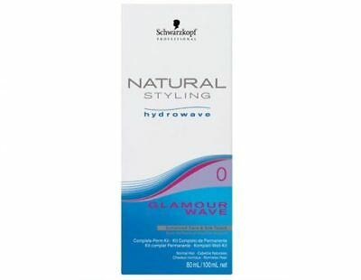 Schwarzkopf Natural Styling Hydrowave Glamour Wave # 0 - 80ml Hair Colour Color