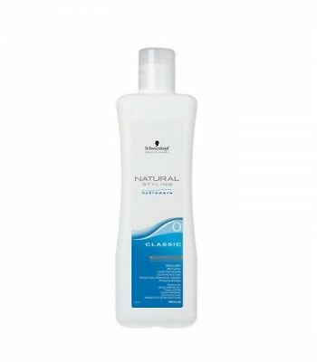 Schwarzkopf Natural Styling Hydrowave Classic 0 Perm Lotion 1000ml Hair Colou...