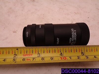 C Mount TV Lens extension Tube 40mm with 10mm & 20 mm