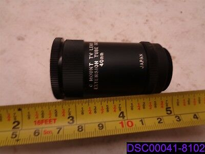 C Mount TV Lens Extension Tube Set 40mm with 10mm