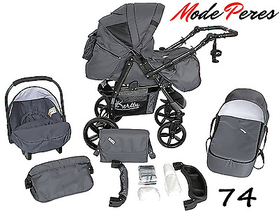 3in1 stroller Trio pram crib Baby carrier for car with accessories for free