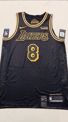 AUTHENTIC LORE SERIES Kobe Bryant Lakers Black City Edition jersey ... 92022bd32