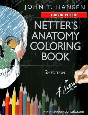 Netter's Anatomy Coloring Second edition With Student Consult (Book PDF HD )