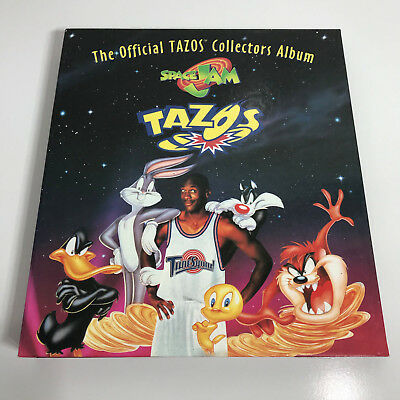 VINTAGE 90S Tazos Looney Tunes, SPACE JAM Frito Lay 1-80 + RARE BASKETBALL GAME