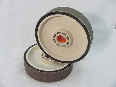 "BUTW 8"" x 2"" x 1200 grit  diamond soft flex grinding wheel R"