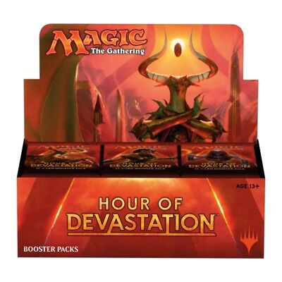 Magic the Gathering (MTG) - Hour of Devastation Booster Box - 36 Packs Sealed!