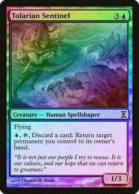 Tolarian Winds FOIL 7th Edition PLD-SP Blue Common MAGIC GATHERING CARD ABUGames