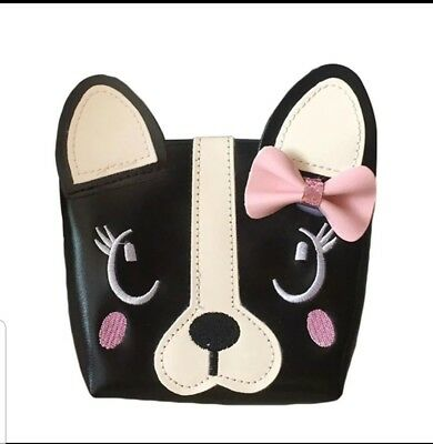 Boston Terrier French BullDog Breed Ladies Handbag Purse now in Pink !!
