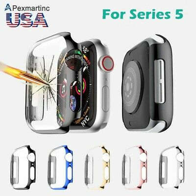 Fr Apple Watch Series 4 Full Body Cover Snap-on Case With Screen Protector Shell