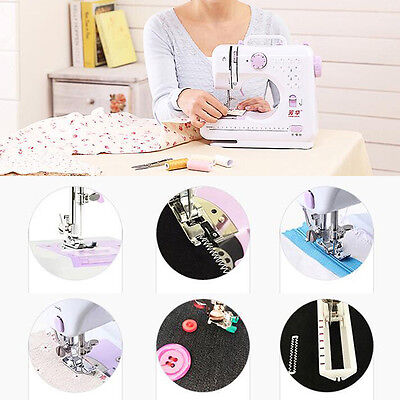 12Stitches Household Sewing Tool Multifunction Electric Overlock Sewing Machine