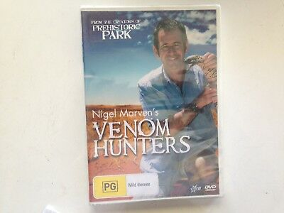 Venom Hunters (DVD, 2007) New Sealed DVD stock Rockingham WA