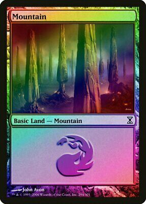 FOIL Time Spiral NM Basic Land MAGIC THE GATHERING CARD ABUGames Plains 285