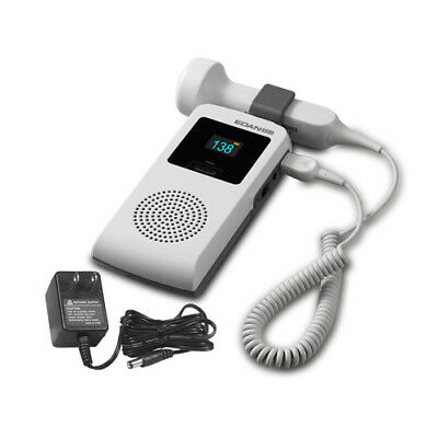 Edan SD3 plus fetal doppler OLED screen, 2mhz/3mhz probe Li-ion battery charger
