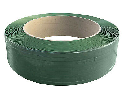 Strapping Band 910 Pet Green 15,5 mm x 0,70 mm Length 1750meter Core 406mm