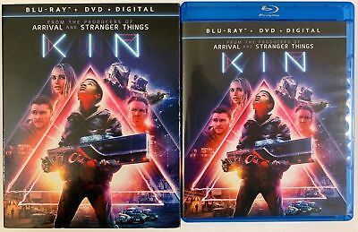 Kin Blu Ray Dvd 2 Disc Set + Slipcover Sleeve Free Worldwide Shipping