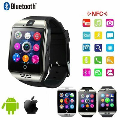 Bluetooth Children Kids Gift Adult Smart Watch SIM TF GSM Camera For IOS Android