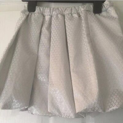 Miss Grant Silver Puffball Skirt Xmas Age 8 9 36