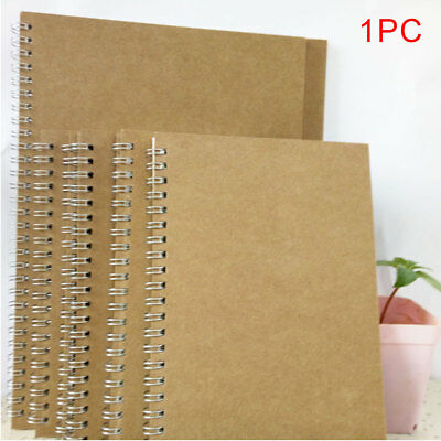 A5 B5 Notebook Stationery Schedule Book Journal Coil Binding Dot Grid Hardcover
